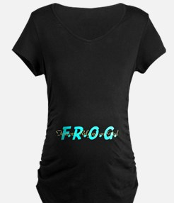 Turquoise FROG T-Shirt
