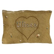 Ulises Beach Love Pillow Case