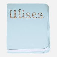 Ulises Seashells baby blanket