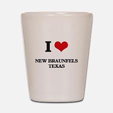 I love New Braunfels Texas Shot Glass