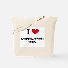 I love New Braunfels Texas Tote Bag
