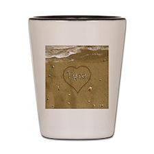 Tyra Beach Love Shot Glass