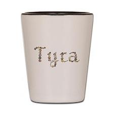 Tyra Seashells Shot Glass