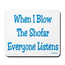 Jewish New Year Blow the Shofar Mousepad