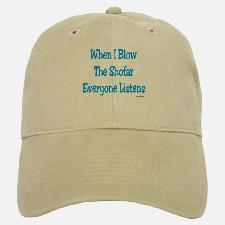Jewish New Year Blow the Shofar Baseball Baseball Cap