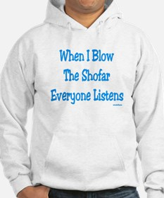 Jewish New Year Blow the Shofar Hoodie