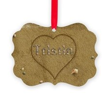 Tristin Beach Love Ornament