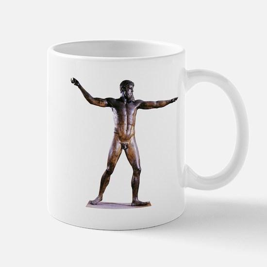 Naked Zeus Statue Mug