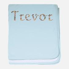Trevor Seashells baby blanket