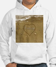 Tracy Beach Love Hoodie Sweatshirt