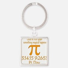 Magical Pi Day Keychains