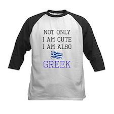 Cute Greek Baseball Jersey