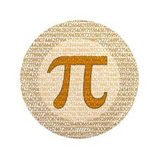 "Pi Day 3.5"" Button (100 pack)"