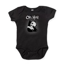 Baby Panda - Oh Hai! Baby Bodysuit
