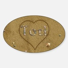Tori Beach Love Decal
