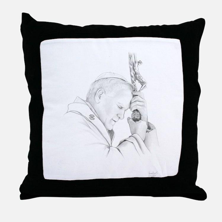 Throw Pillow Pope John Paul II-The Polish Pope