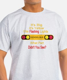 4-flashinglights T-Shirt