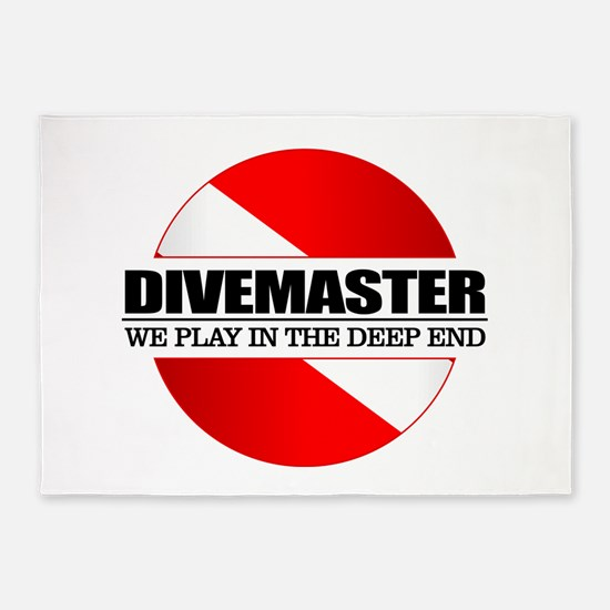 Divemaster (rd) 5'x7'Area Rug