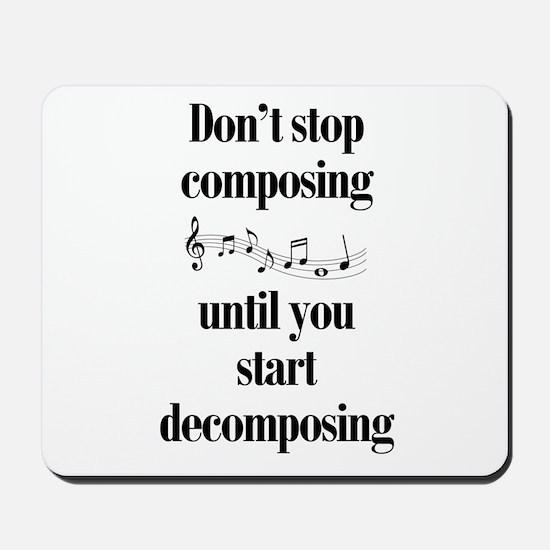 Composing Mousepad
