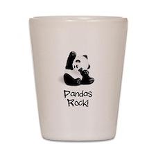 Baby Panda Shot Glass