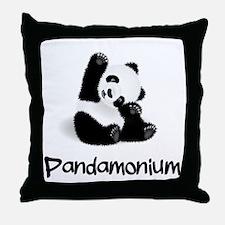 Baby Panda Throw Pillow
