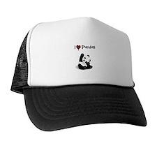 I Heart Pandas Trucker Hat