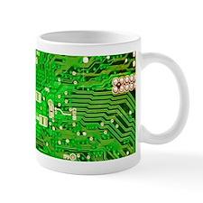 Circuit Board - Green Mug