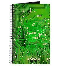 Circuit Board - Green Journal