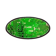 Circuit Board - Green Patches