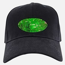 Circuit Board - Green Baseball Cap
