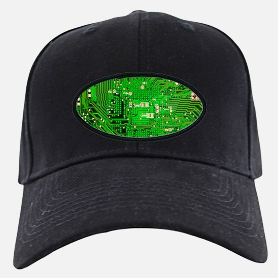 Circuit Board - Green Baseball Hat