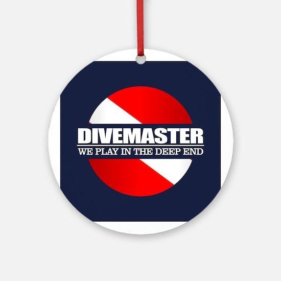 Divemaster (rd) Ornament (Round)