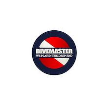 Divemaster (rd) Mini Button