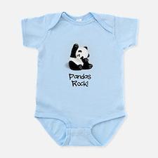 Panda's Rock! Body Suit