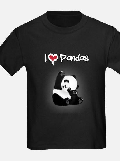 I Heart Pandas T-Shirt
