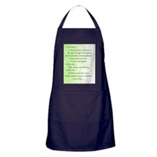 Unique Recovering alcoholic Apron (dark)