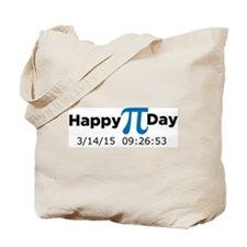Happy Pi Day (full date & time) Tote Bag