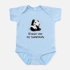 Panda Ate My Homework Body Suit