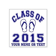 Class of 2015 Flip-Flop Sticker