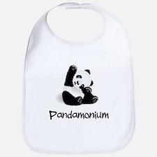 Pandamonium Bib