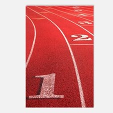 Track lanes Postcards (Package of 8)
