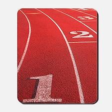 Track lanes Mousepad