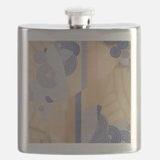 Art Deco Abstract Flask