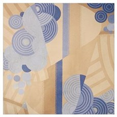 Art Deco Abstract Poster