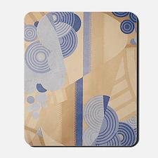 Art Deco Abstract Mousepad
