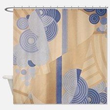 Art Deco Abstract Shower Curtain