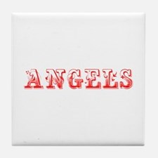 angels-Max red 400 Tile Coaster