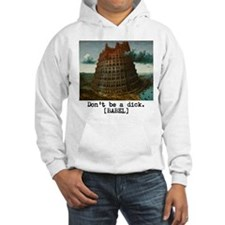 Dont be a dick Hoodie