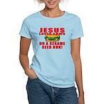 Jesus Loves Animals Women's Light T-Shirt