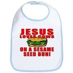 Jesus Loves Animals Bib
